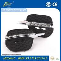Led Running Board For Bmw x5 e70 e70lci 2011 - 2013 Strobe Working Lights