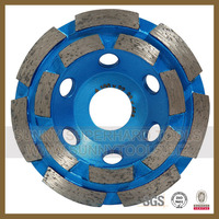 Marble abrasive grinding wheel for stone cutting