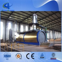 100% non-pollution industrial waste oil recycling equipment