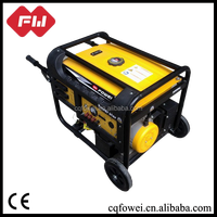 China Portable home use generator alternator price list