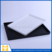 Professional design newest clear acrylic serving tray