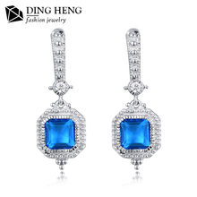 New model silver 925 vintage long heavy latest trends vogue jewelry earrings from china
