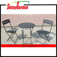 CARREFROUR polywood outdoor furniture plastic wood chair table furniture