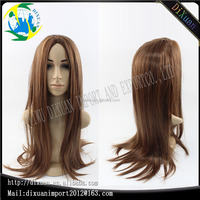 Long straight blonde hair Hot sale brazilian full lace wig