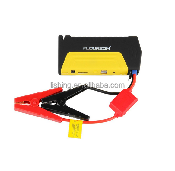 mobile power bank with usb jumper cable | Portable Multi-functional Car Jump Start | Shenzhen car battery comany suppliers