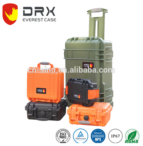 Durable Hard plastic waterproof fishing seat packing carrying tool Case