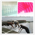 Ceiling PC sheet for roofing polycarbonate hollow plastic board