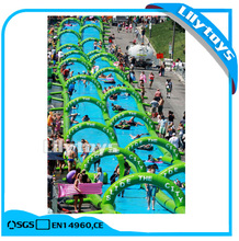 300m Long Giant Inflatable water slide the city ,slip and slide