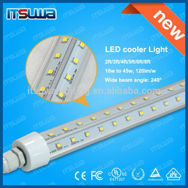 hot sale led tube 8 high efficiency t8 led tube smd2835 v shape led light tube led cooler light for freezer and refrigerator