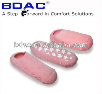 fashionable cracked heel moisturized gel socks