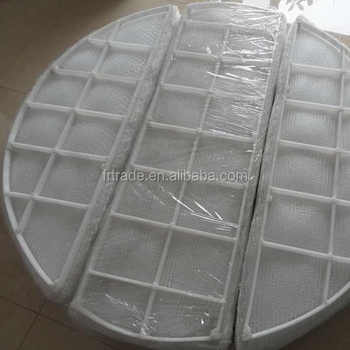 PP PTFE PVDF Incoloy 800 Demister pad for flitering