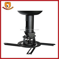 P20 Jor China supplier Factory selling Height High Quality Black vertically adjustable projector ceiling mount kit