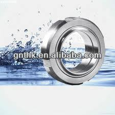 Sanitary Stainless Steel pipe union dimension