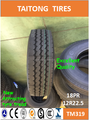 TAITONG Brand High Quality Truck Tire 12R22.5 TM319 used on mixed road conditions