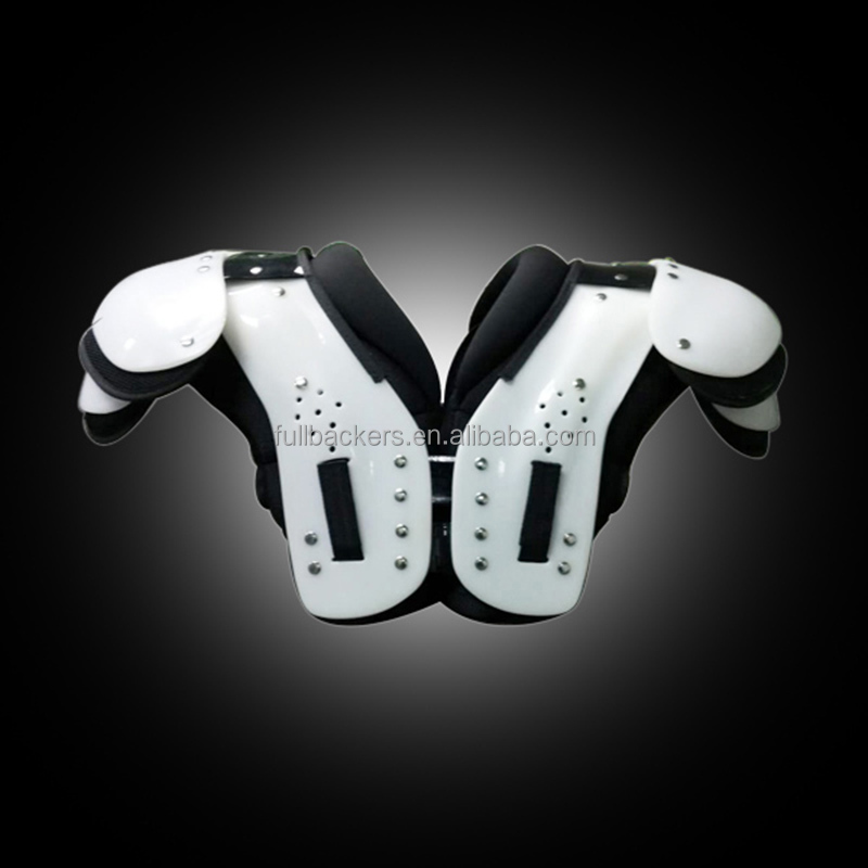 double shoulder pads pieces American football team sports training pads