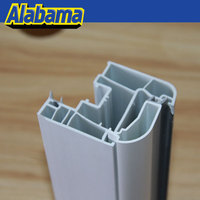 thermal insulation upvc profiles of window mullion