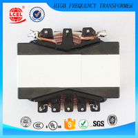 Support custom high Quality High Frequency switching power PQ type Single Phase small size high voltage Transformer