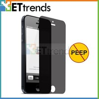 0.3mm2.5D privacy screen protector for iphone 5