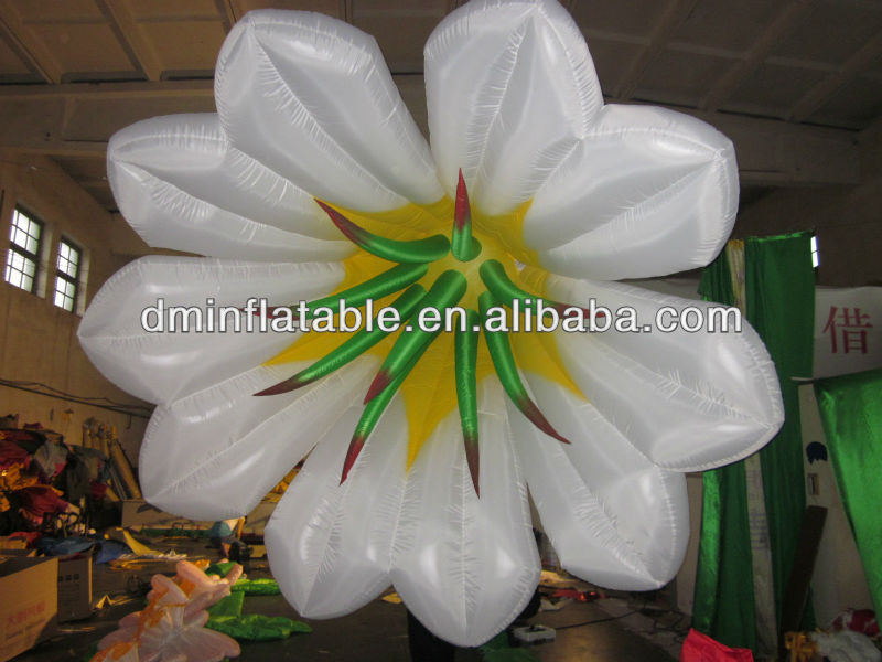 oxford cloth inflatable lighting, led inflatable flower