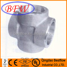 Forged Steel High Pressure Socket Weld Pipe Fitting Cross