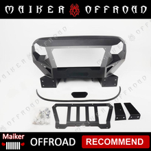 front metal face jeep grill for jeep wrangler jk grille body parts