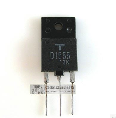Transistor used in the maintenance of color TV D1555 new spot d1555