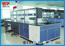 All steel school physics lab furniture with factory price island bench /work bench /wall bench