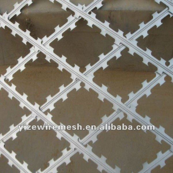 direct factory razor blade barbed wire for decoration