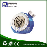 Water Power led digital clock