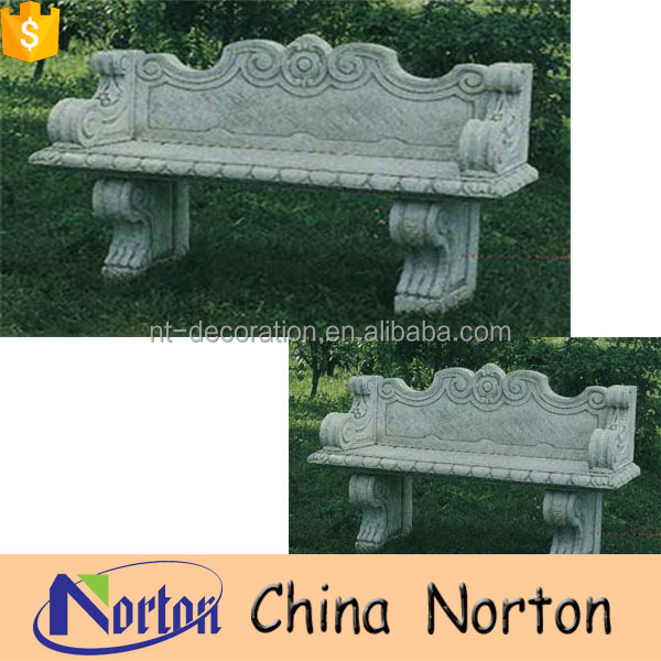 Antique western style hand curved park bench with backs NTS-B005Y