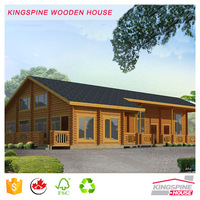 Modern Low Cost Prefabricated Wooden House Bungalow Manufactory Price KPL-025
