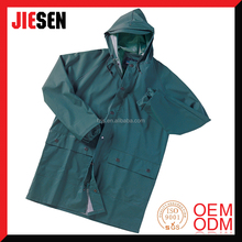 Strong Waterproof Durable Heavy Duty Long Raincoat