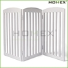 Dog Pet Gate Pet Accessory Wood Dog Fence Homex_BSCI Factory