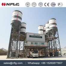 Environmental friendly hzs concrete mixing plant with 25 yrars experience