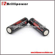 Brillipower rechargeable 3.6v li-ion button cell battery lir2450 18650 3.7v cylinder 3.6v li-ion button cell battery lir2450