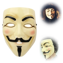 Wholesale V for Vendetta Mask(Yellow)