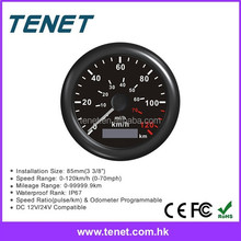 12V DC Speedometer for Vehicle RPM Tachometer