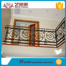 used beautiful New simple cheap cast iron railing for veranda /luxury ornamental aluminum balcony balustrade