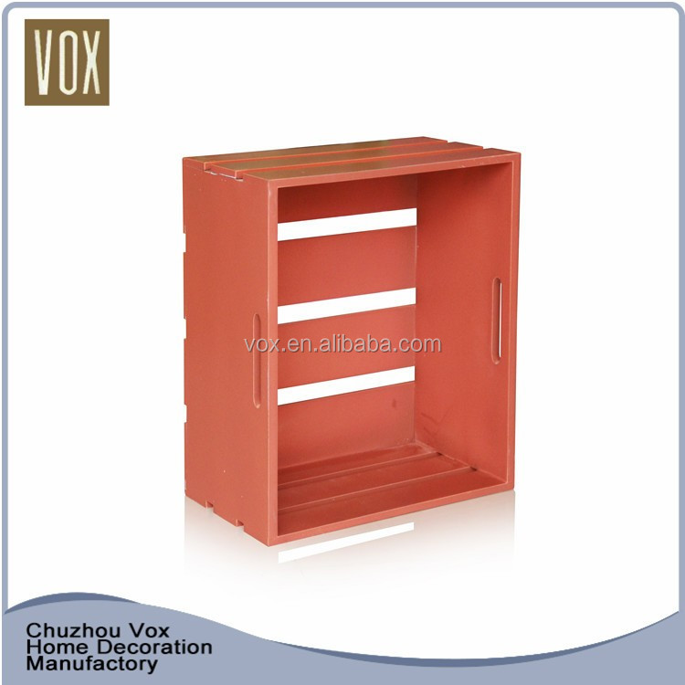 Wholesale cheap Chinese style small wooden crates craft to decorate