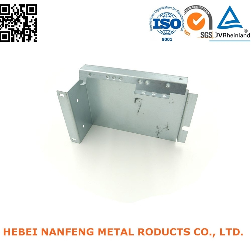 Customized Electronics Appliance Galvanized Steel Bend Stamping Cover