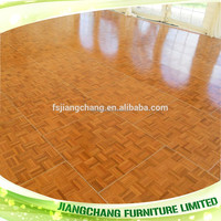 Teak Used Portable Dance Floor for Sale