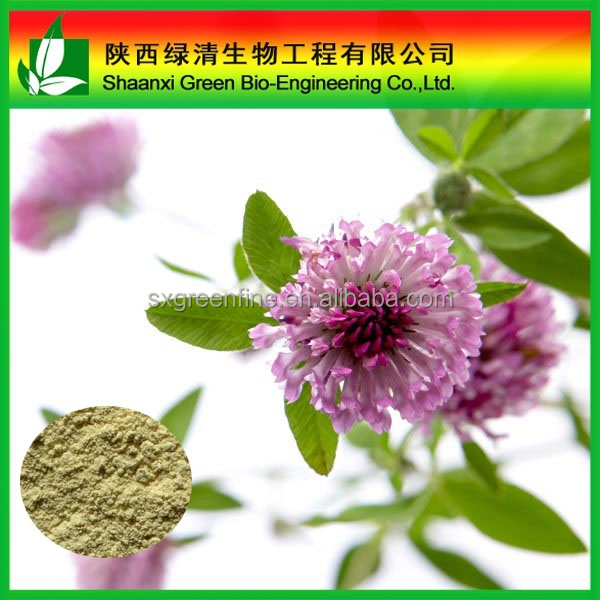 Superior Quality Red Clover P.e With Isoflavones /Red Clover Extract Formononetin 98% Cas:485-72-3/ High Quality Formononetin 98