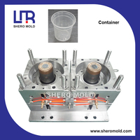 hermetic food container mould for plastic injection