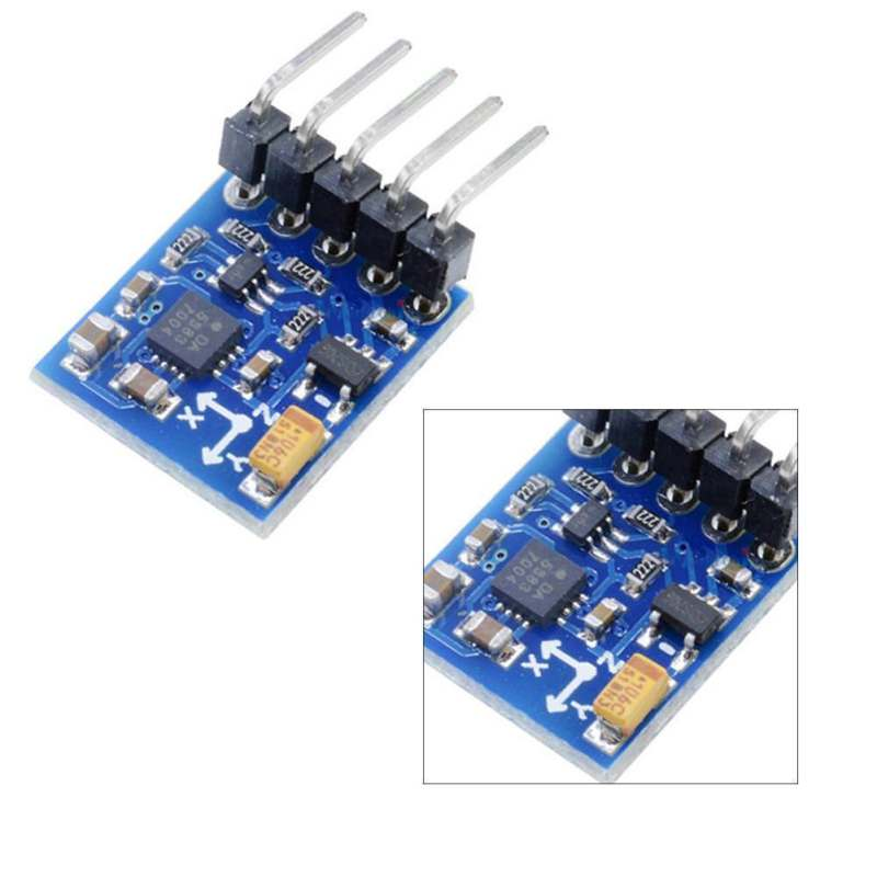 3V-5V 3 Triple Axis Magnetic Field Compass Magnetometer Sensor <strong>Module</strong> GY-271 HMC5883L