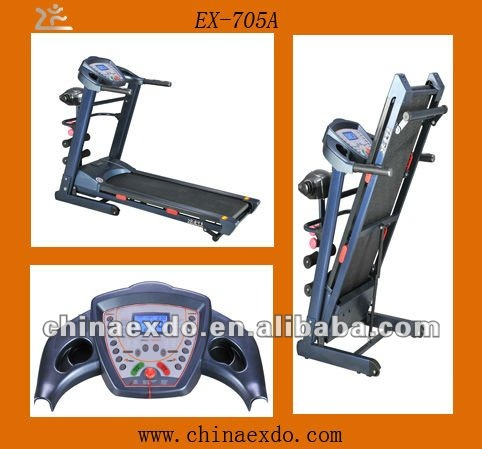 Mid East Body Building Equipment folding treadmill buyer dog running machine price EX-705A