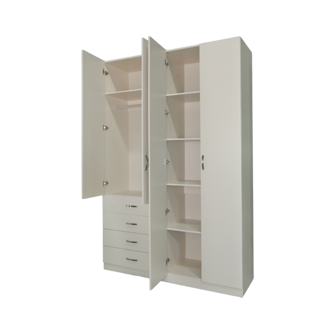 American Style Wooden Cheap Laminate Designs Modern Bedroom Set Storage  Wardrobe Closet