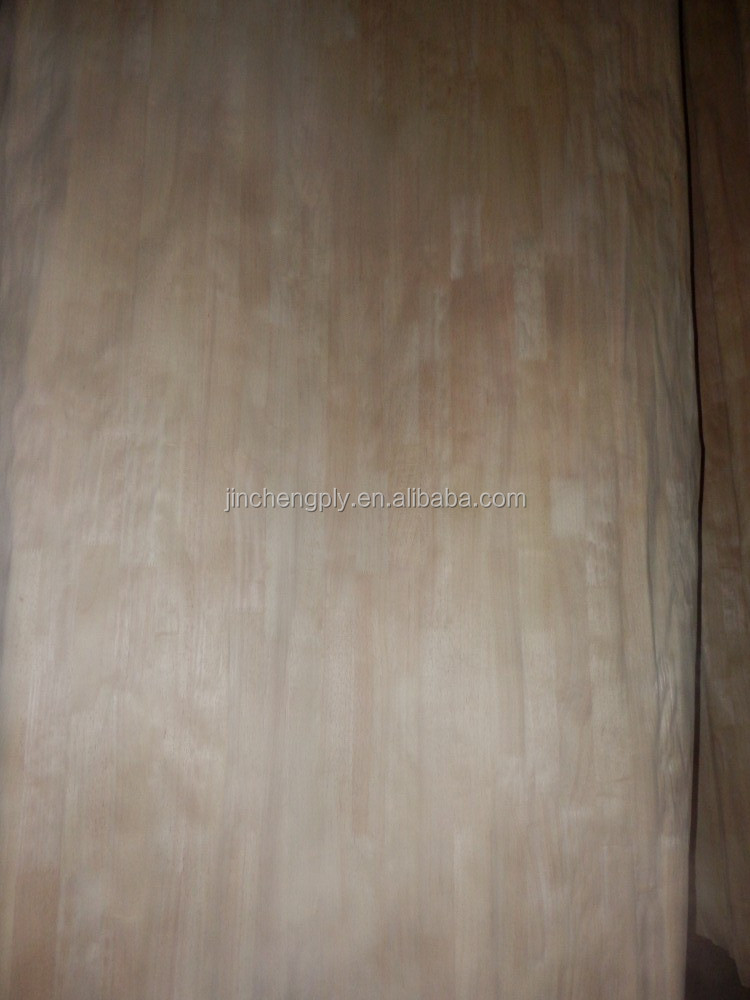 3mm decorative E0 red oak bending plywood
