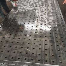 Factory sale Cast iron surface plate ;Precision cast iron base table welding table 3d