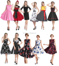 walson Womens New 1940s 1950s all sizes Retro Vintage Rockabilly Party Prom Dress S-6XL