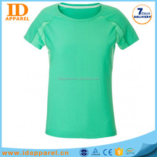 plain elasthane t-shirts o neck , feel good mint green t shirt company